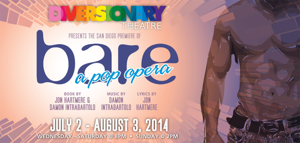 bare: a pop opera at Diversionary Theatre. July 2 - August 3, 2014