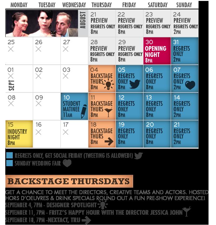 Regrets Only Calendar