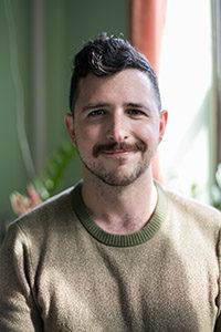 Jordan Seavey, playwright of HOMOS or Everyone in america