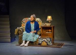 Annie Hinton as Ann Kron in WELL by Lisa Kron
