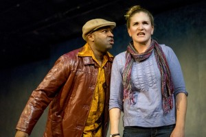 Durwood Murray and Samantha Ginn in WELL by Lisa Kron