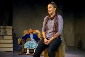 Samantha Ginn as Lisa and Annie Hinton as Ann in WELL by Lisa Kron (3)