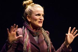 Samantha Ginn in WELL by Lisa Kron